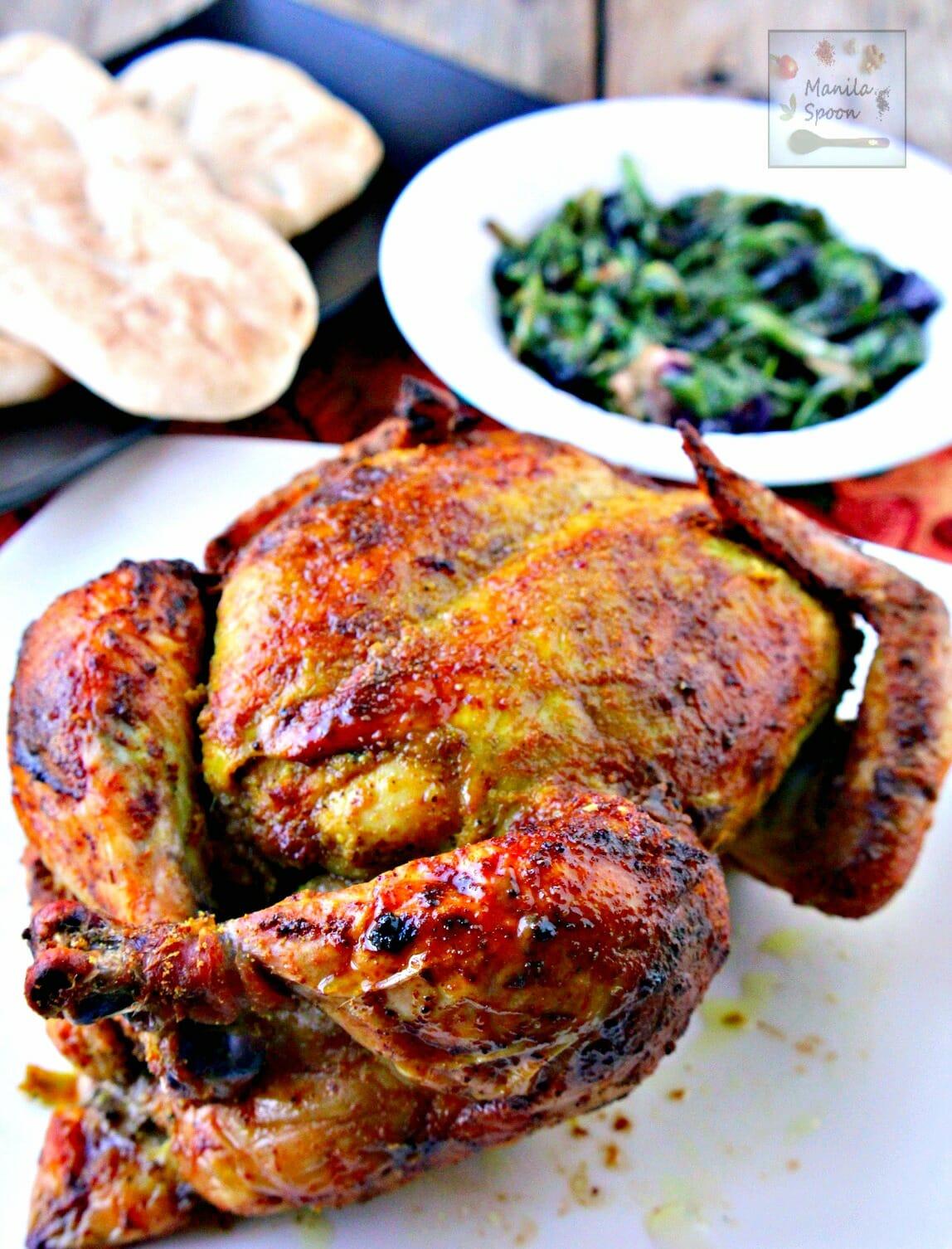 Whole Masala Chicken